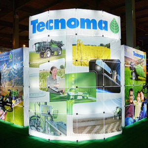 "Светящийся стенд ""Tecnoma"" (GS Pop-up)"
