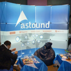 "Светящийся стенд ""Astound"" (GS Pop-up)"